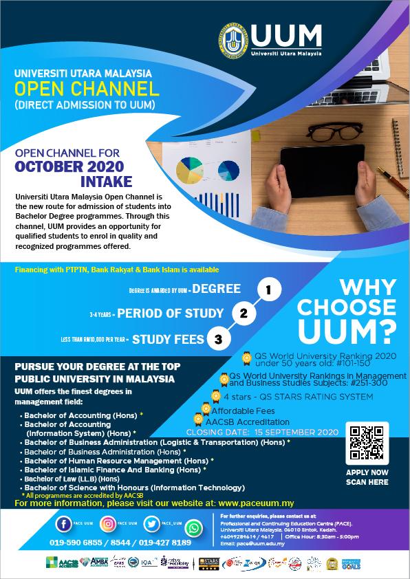 Pace Uum Open Channel Open Channel
